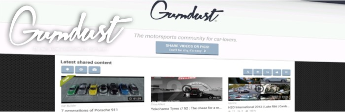 Gumdust - The motorsports community for car-lovers.